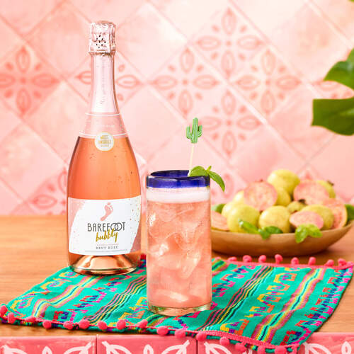 Guava Basil Mimosa