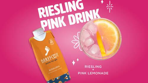 Riesling Pink Drink