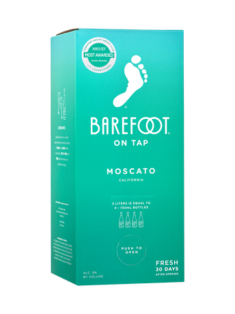 Barefoot Moscato 3.0L image number 1
