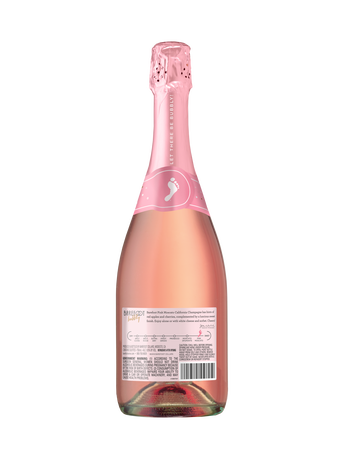 Barefoot Bubbly Pink Moscato  750ML image number 2