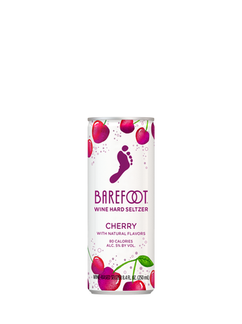 Barefoot Hard Seltzers Cherry 250ML image number 1
