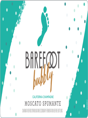 Barefoot Bubbly Moscato Spumante 750ML image number 3