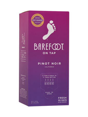 Barefoot Pinot Noir 3.0L image number 1
