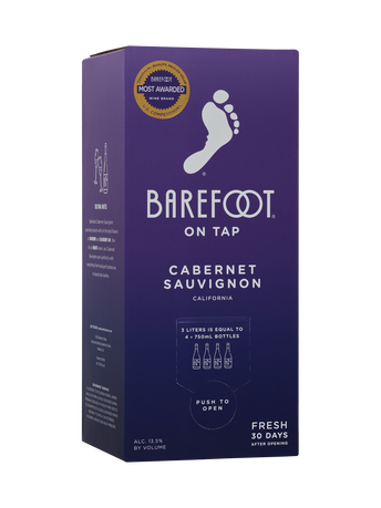 Barefoot Cabernet Sauvignon  3.0L image number 1
