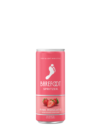 Barefoot Pink Moscato Spritzer 250ML image number 1