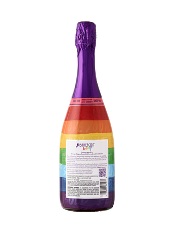 Barefoot Bubbly Pride Sweet Rosé 750ML image number 4