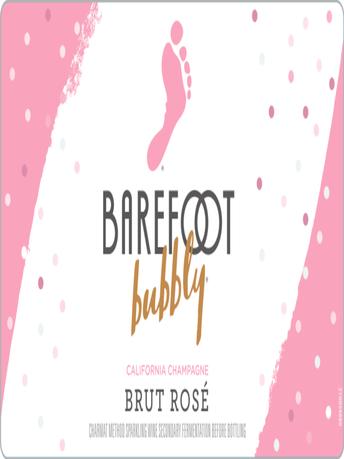 Barefoot Bubbly Brut Rosé 750ML image number 3