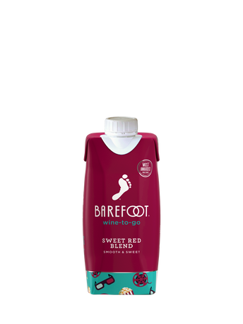 Barefoot Sweet Red Blend  500ML image number 1